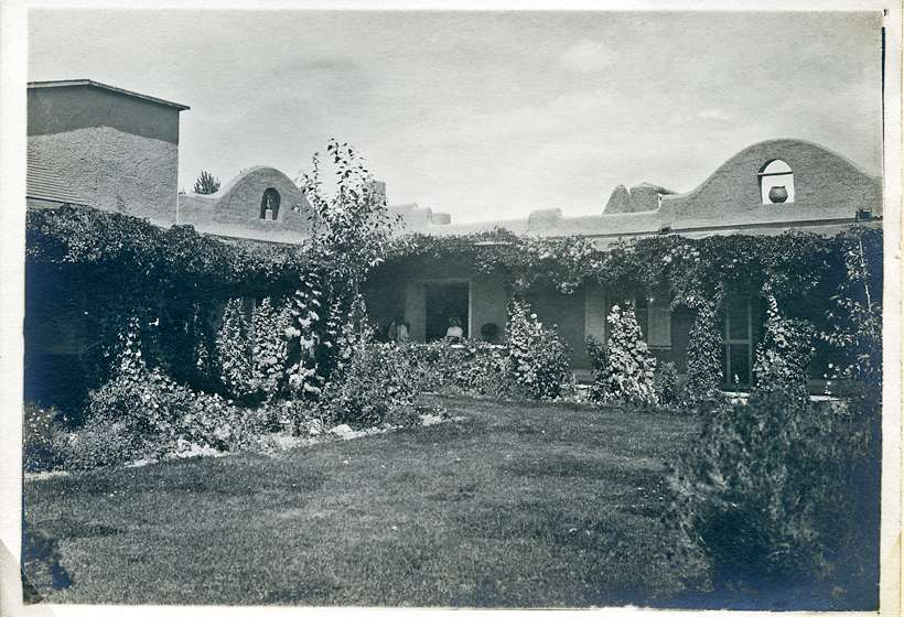 "Virginia Walker Couse's garden became known as the ""Mother Garden of Taos."""