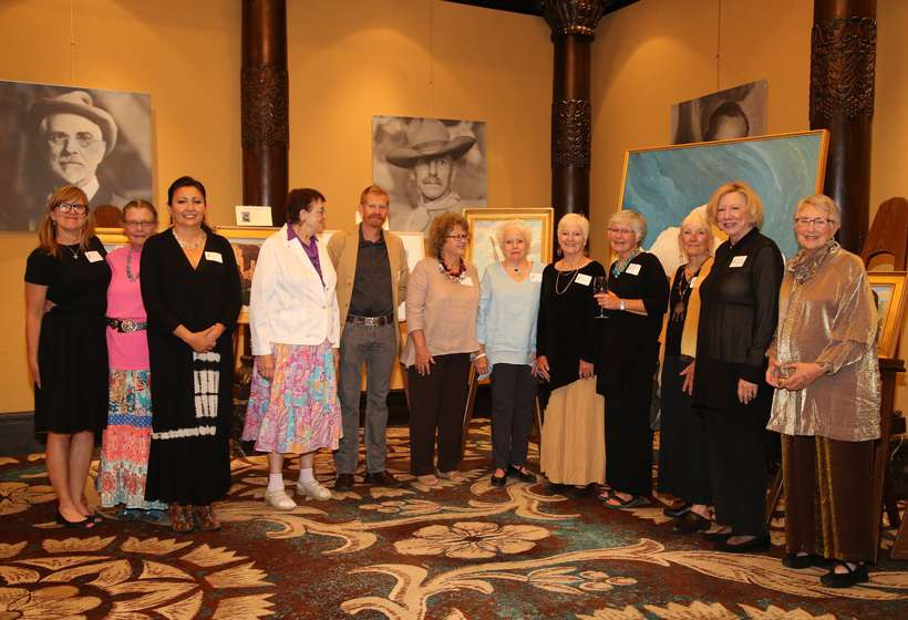 The Couse Foundation's hard working Gala volunteers.